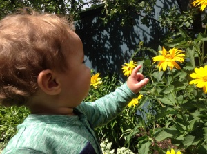All mothers worry about their little ones... and times slowly erases those worries as we see our little ones blossom.